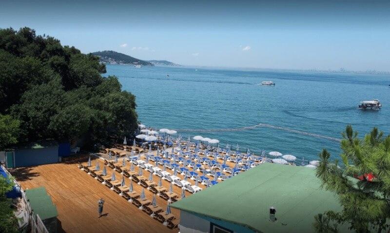 buyukada blue beach