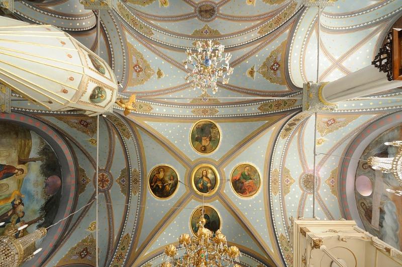 aya yorgi manastiri tavan
