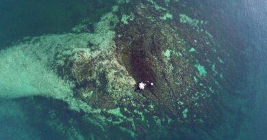 batık vordonisi adası su üstünde kalan kısmı