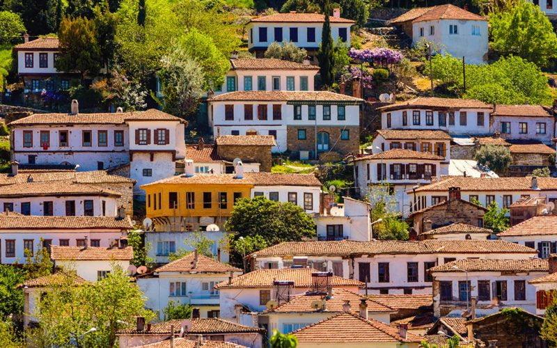sirince terrace houses