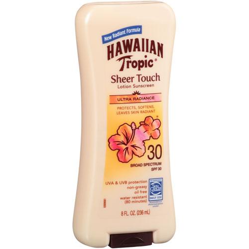 hawaiian tropic protective sun lotion