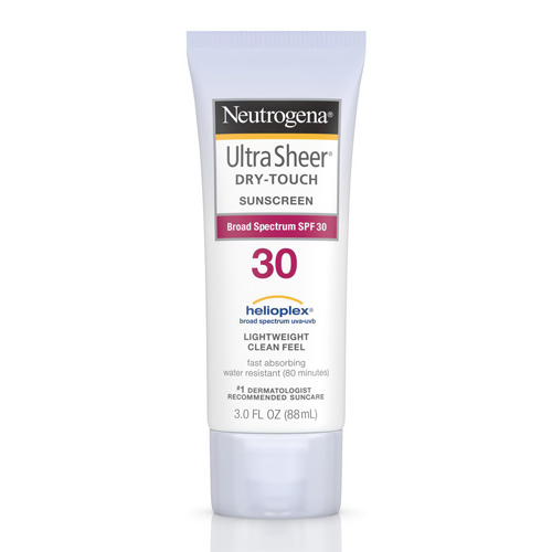 neutrogena ultra sheer dry touch sunscreen
